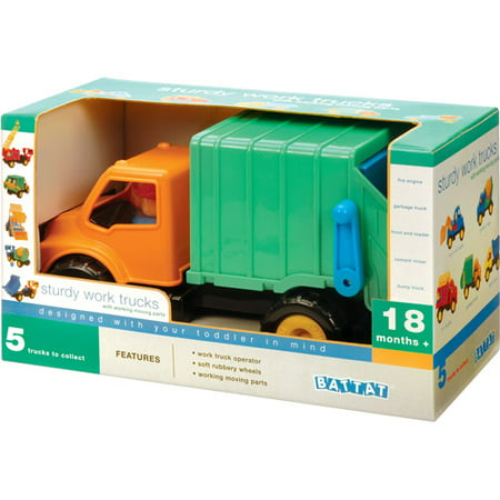Battat Garbage Truck Play Set