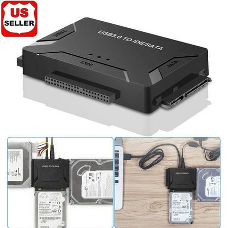Ide Ultra Ata 100 Hard Drive - USB 3.0 to IDE & SATA Converter External Hard Drive Adapter Kit 2.5