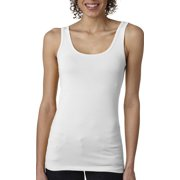 Branded Next Level Ladies Spandex Jersey Tank Top - WHITE - L (Instant Saving 5% & more)