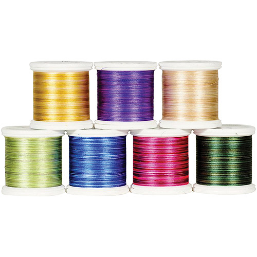 YLI Corporation Variegated Silk Thread, 200 Meters