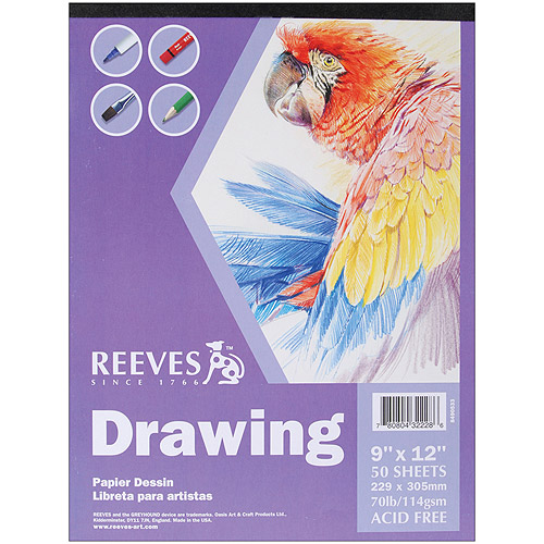 Reeves Drawing Paper Pad, 50 Sheets, 70 lb