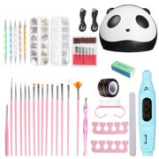 60Piece 36W Electric Nail Polish Dryer Lamp Gel Acrylic Curing 12 UV LED Light Professional Tools Kit or Only 1 Box Nail Sequins - Best Reviews Guide