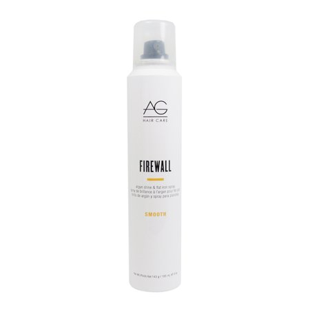 Ag Hair Smooth Firewall Argan Flat Iron Hair Spray 5Oz ()