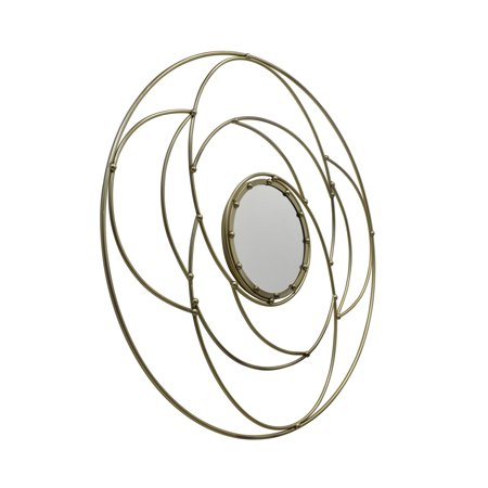 Christopher Knight Home Evonne Modern Circular Wall Mirror by  - N/A ()