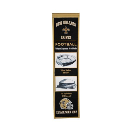 Winning Streak - NFL Evolution Banner, New Orleans Saints - New Orleans Saints Halloween Decorations