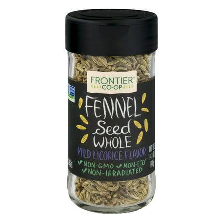 Frontier Co Op Fennel Seed Whole  1 41 Oz