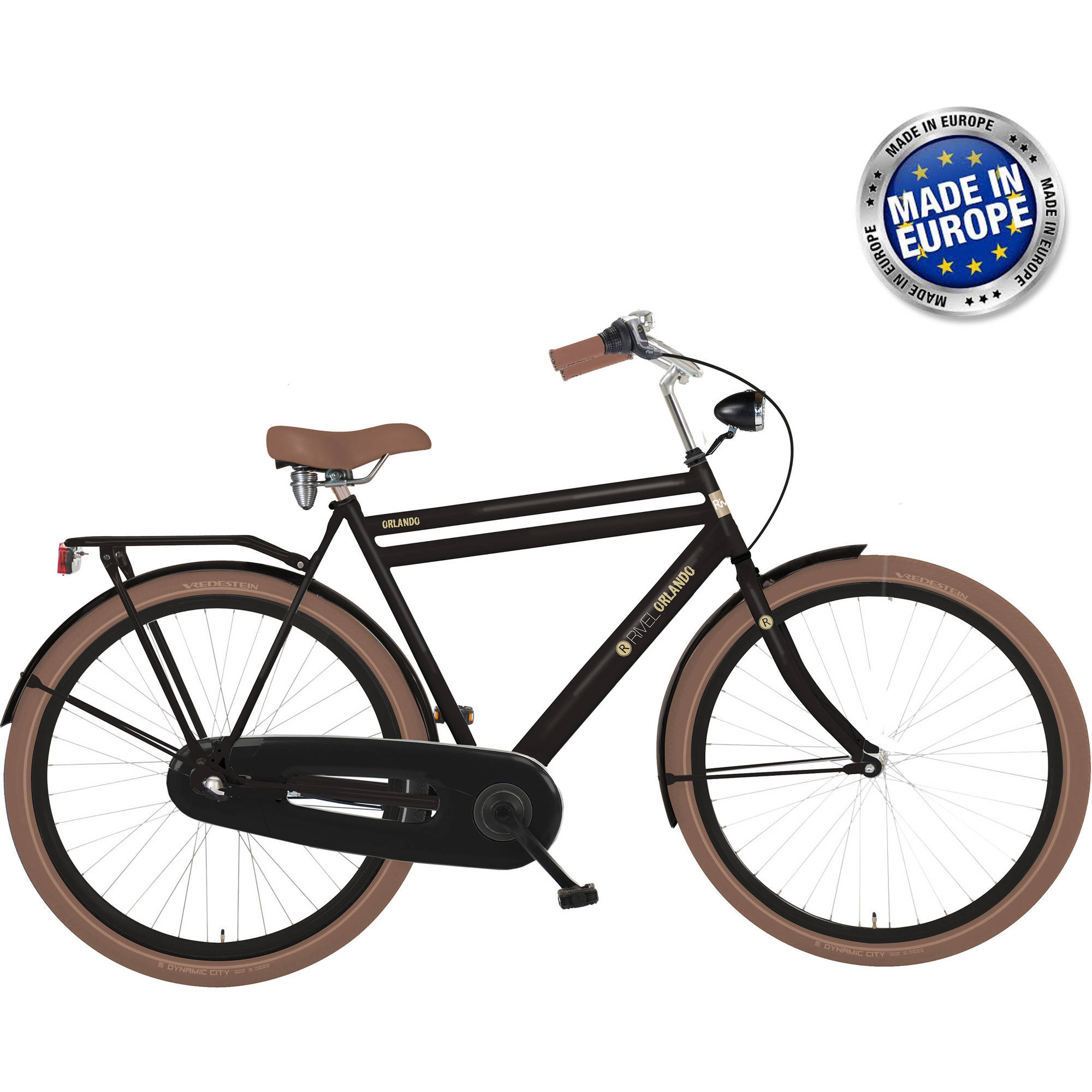 Rivel Orlando M 700C Black Nexus 3 City Dutch Bicycle