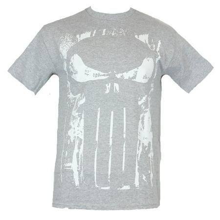 07834ff18 IN MY PARENTS BASEMENT - The Punisher (Marvel Comics) Mens T-Shirt - Spray  Paint Stencil Skull Image - Walmart.com