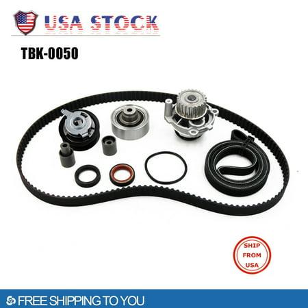 Iuhan Timing Belt Kit Water Pump for 99-03 V W Golf Jetta Beetle TDI 1.9L (2003 Vw Jetta Tdi Wagon For Sale)