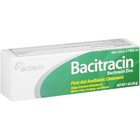 Actavis Bacitracin Antibiotic First Aid Ointment, 1 Oz by Generic