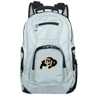 NCAA Colorado Buffaloes Gray Premium Laptop Backpack