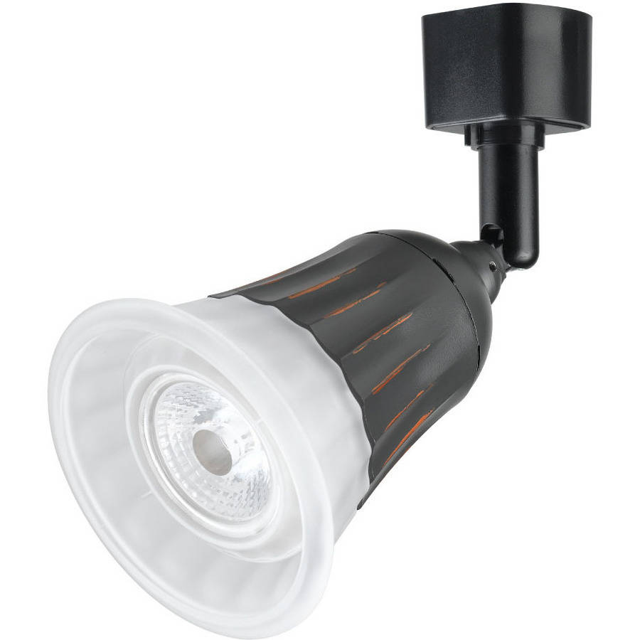 "Duracell 6"" Black LED Dimmable Track Light Head by Jiawei Technology"
