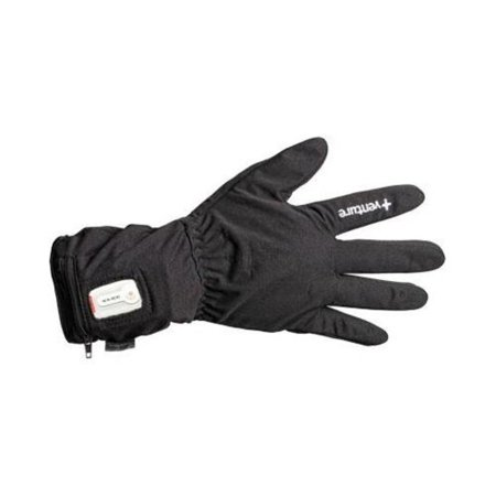 Venture Battery Powered Heated Glove Liners (Black,