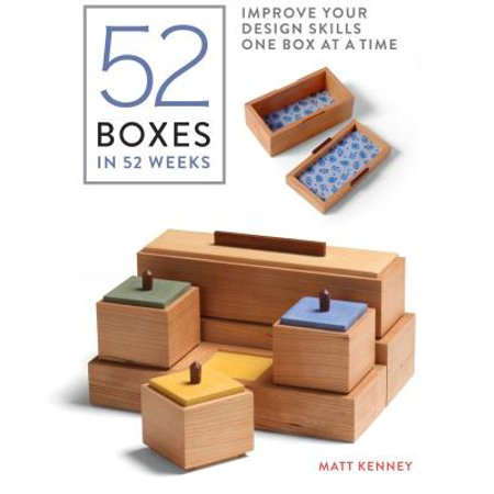 52 Boxes in 52 Weeks : Improve Your Design Skills One Box at a (The Cargo Container Improved Distribution By Introducing)