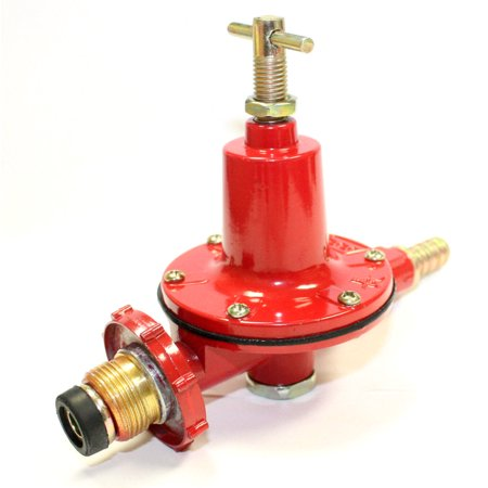 Adjustable 0-30PSI High Pressure Propane Regulator High Flow 4 Outdoor LP Burner