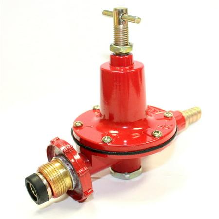 Adjustable 0-30PSI High Pressure Propane Regulator High Flow 4 Outdoor LP