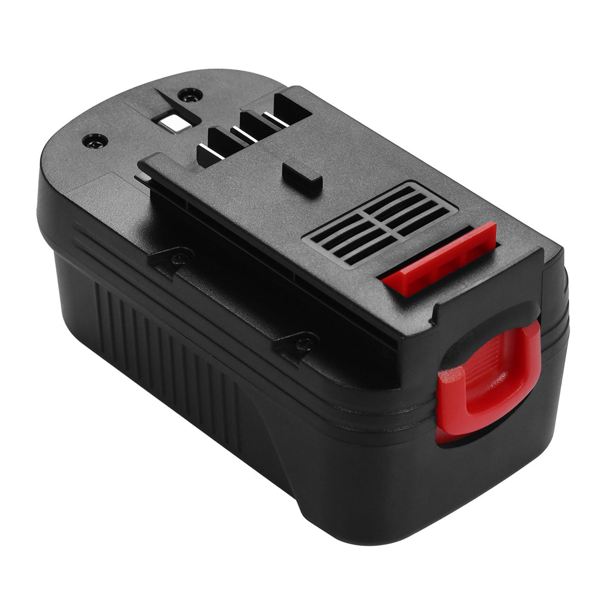 Powerextra 2000mAh 18v Replacement Battery For Black&Decker HPB18, HPB18-OPE, 244760-00, A1718, A18, A18E Firestorm FS180BX, FS18BX, FS18FL, FSB18, NST2118 Black and Decker Power Tools Batteries