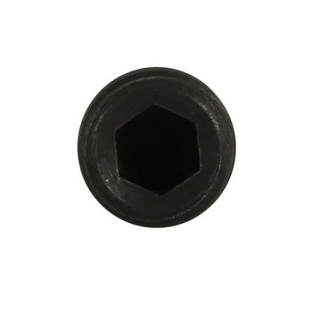 5pcs M12x45mm alliage acier Grade 12.9 Vis sans tête à six pans creux - image 1 de 3