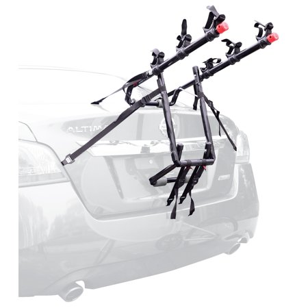 Allen Sports Deluxe 3-Bicycle Trunk Mounted Bike Rack Carrier, 103DN (Deluxe Trunk Mount Bike Carrier)