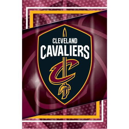 Cleveland Cavaliers 22'' x 34'' Logo Team Poster - No - Edmonton Oilers Team Logo Poster