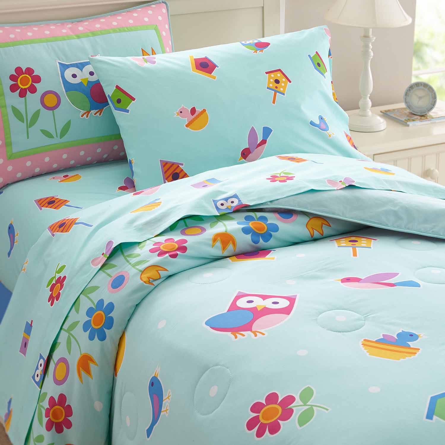 Olive Kids Birdie Bedding Comforter Set by Wildkin