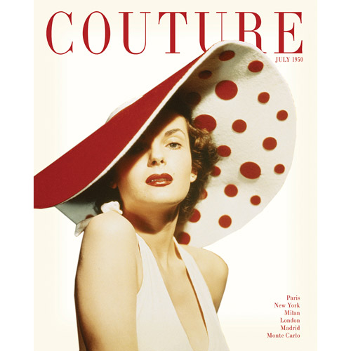 """Couture July 1950"" 16x20 Canvas Art"