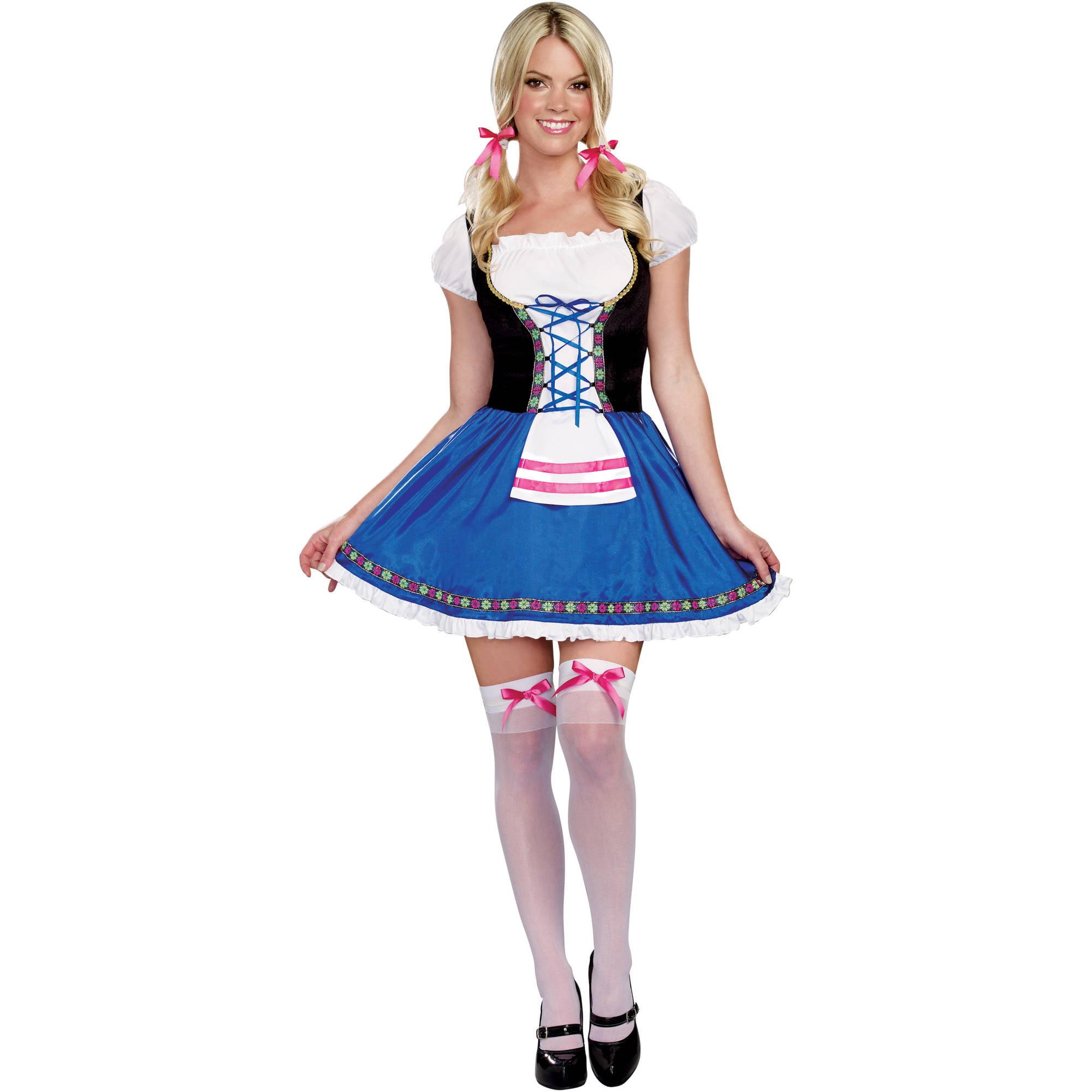 beer maiden adult women's halloween costume - walmart