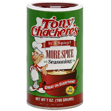 Tony Chacheres More Spice Seasoning  7 Oz  Pack Of 6