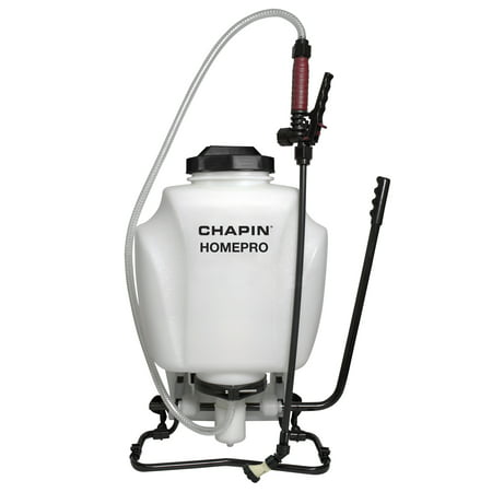 Chapin HOMEPRO Home & Garden Sprayer - 4 Gal Backpack Fertilizer, Weed Killer, and Pesticide