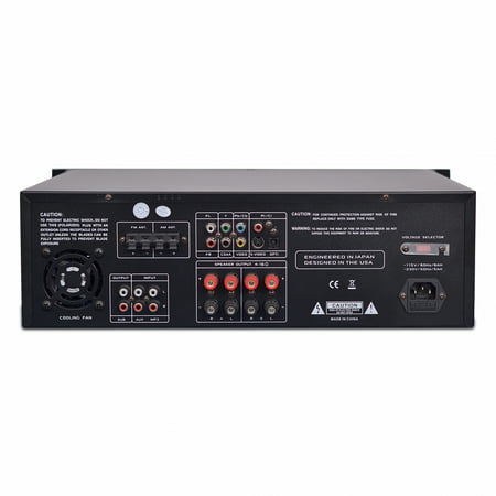 PYLE PD3000BT - Bluetooth Home Theater Preamplifier - Pro Audio Stereo Receiver System with CD/DVD Player, MP3/USB Reader, AM/FM Radio (3000 Watt) ()