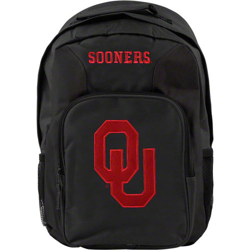 NCAA - Oklahoma Sooners Black Youth Southpaw Backpack