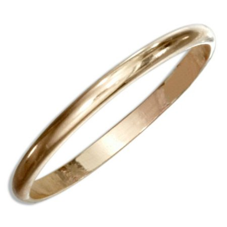 14k Gold Filled Plain Band Toe Ring
