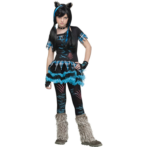 Wick'd Wolfie Teen Halloween Costume - One Size