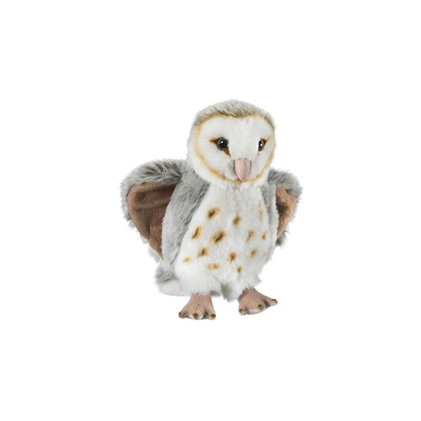 Wild Life Artist Barn Owl Plush, Surface washable By ...