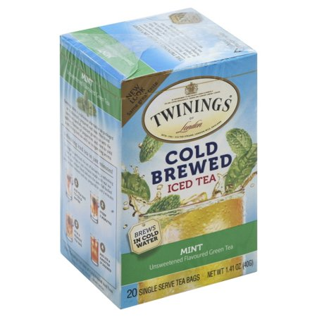 Peachy Twinings Of Londona Green With Mint Cold Brewed Iced 20 Ct Tea Bags 1 41 Oz Box Machost Co Dining Chair Design Ideas Machostcouk