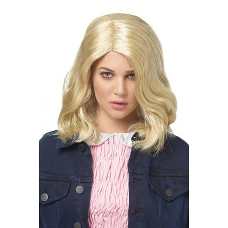 Strange Girl Blonde Adult Costume Wig
