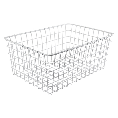 Wald Products Basket 1275Wh 21X15X9 White No/Hdwr No