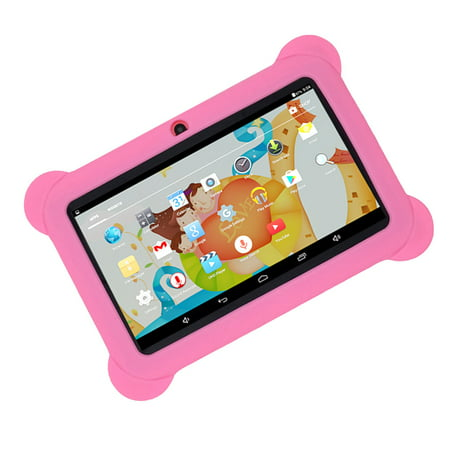 """Kids Safe 7"""" Quad-Core Tablet 512M+8GB WIFI MID Dual Cameras Kid-Proof Case with US Plug (Pink) - image 4 of 5"""