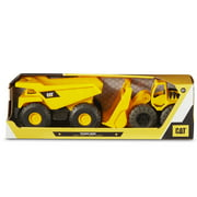 Caterpillar Tough Rigs Wheel Loader & Dump Truck 2PK