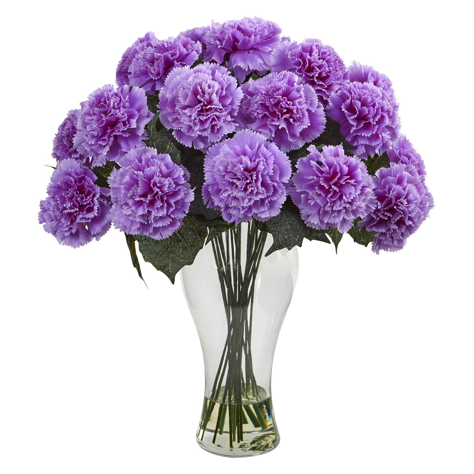 Nearly Natural Blooming Carnation Silk Flower