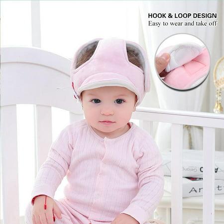 Sonew Casquette de protection anti-collision pour bébé, casque de sécurité pour bébé, casque de sécurité pour bébé, chapeau de sécurité pour bébé - image 1 de 9