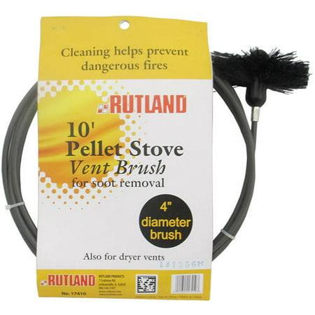 4 Quot Pellet Stove Dryer Vent Brush With 10 Flexible Handle