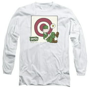 Beetle Bailey Target Nap Mens Long Sleeve Shirt