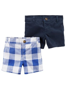 114f9d1f2 Product Image Carter's Boys' 2 Pack Checkered Shorts- ...
