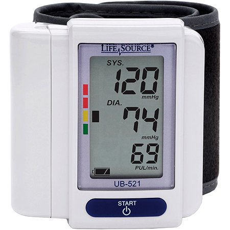 Lifesource Digital Wrist Blood Pressure Monitor