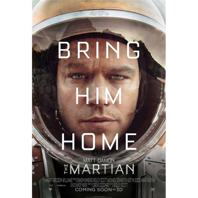 "Martian The Movie Poster Mini 11/""X17/"""