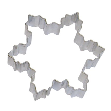 Snowflake Cookie Cutter - COOKIE CUTTER 4 IN SNOWFLAKE