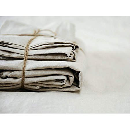 Lausonhouse Luxurious 100% Pure French Linen Sheet Set -