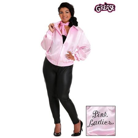 Pink Ladies Jacket From Grease (Grease Plus Size Pink Ladies)