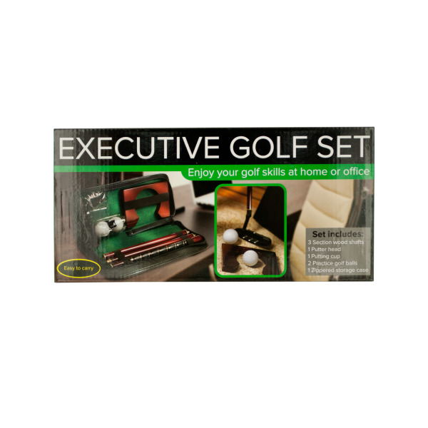 Executive Portable Golf Set (Pack Of 1) by Bulk Buys
